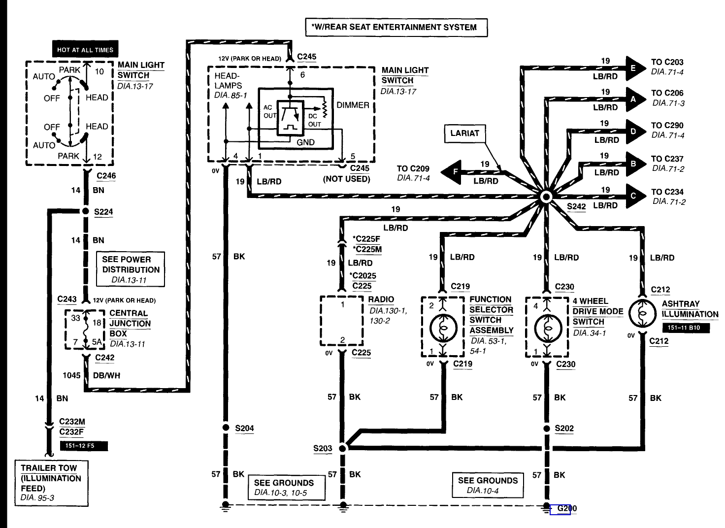 Ford F 150 Trailer Light Wiring Diagram