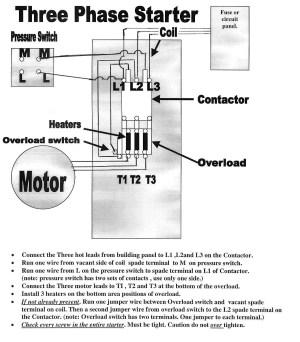 Ge Motor Starter Wiring Diagram   Free Wiring Diagram