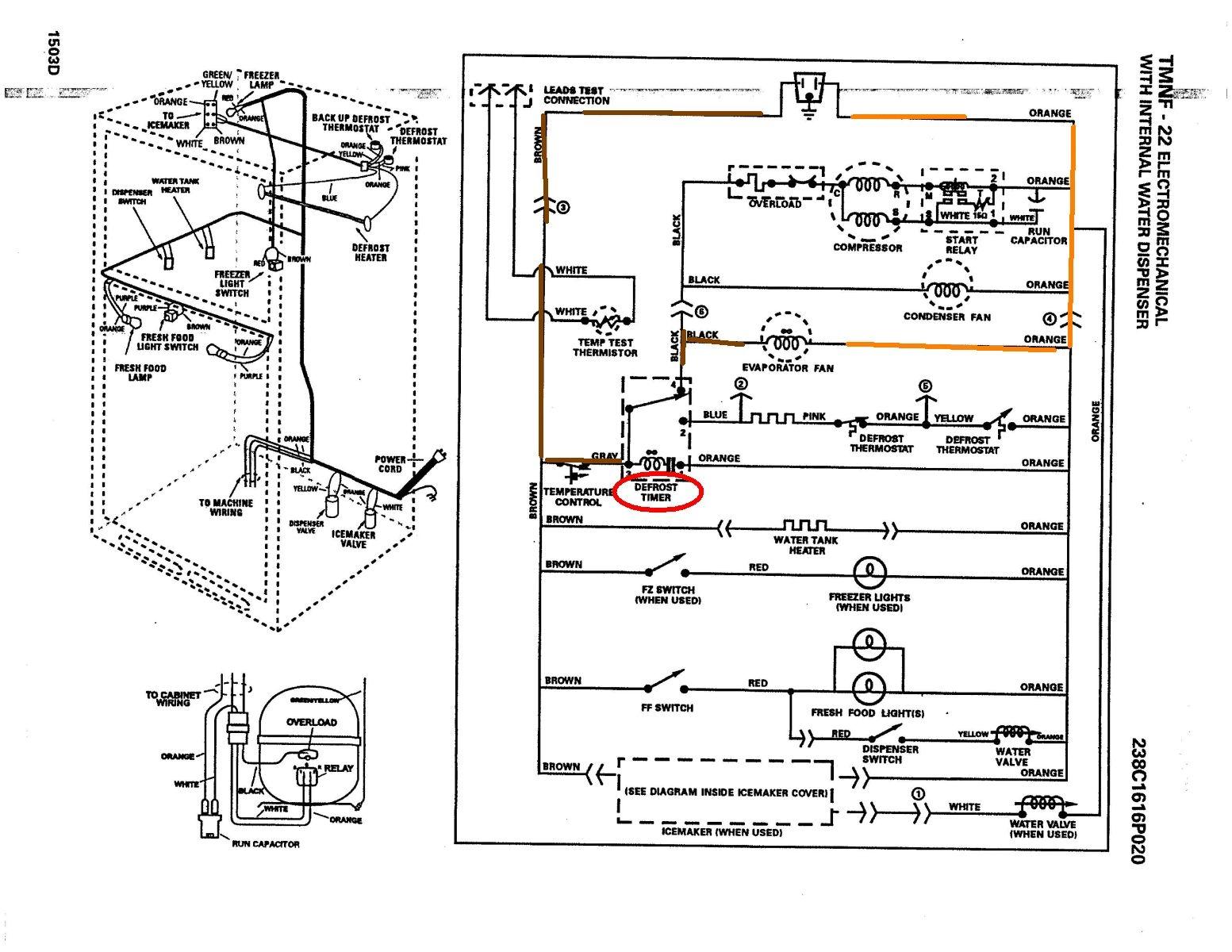 Ge Refrigerator Wiring Diagram