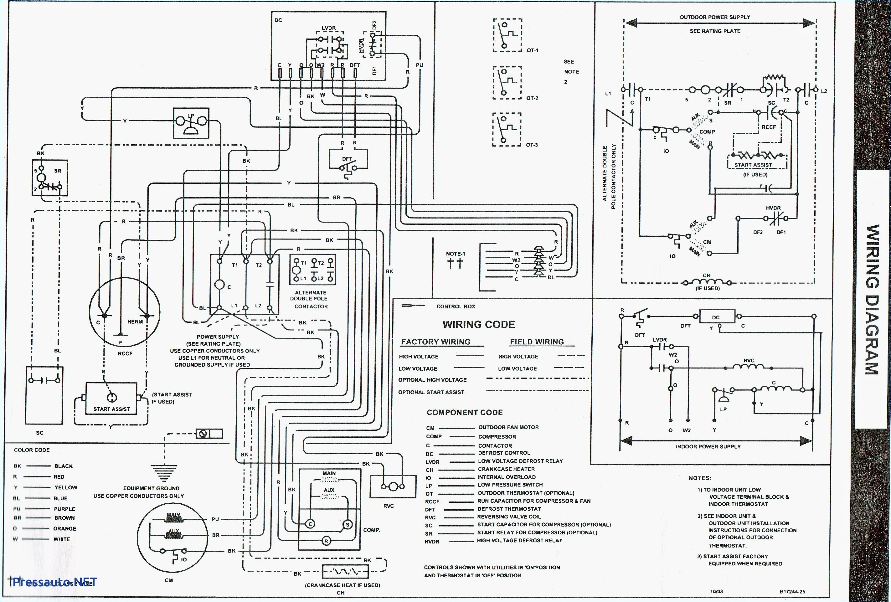 on janitrol furnace wiring diagram only