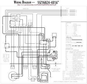 Goodman Heat Pump Low Voltage Wiring Diagram   Free Wiring