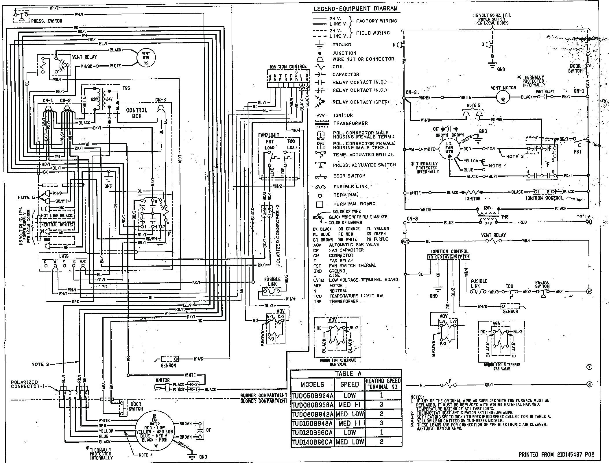 Goodman Heat Pump Low Voltage Wiring Diagram
