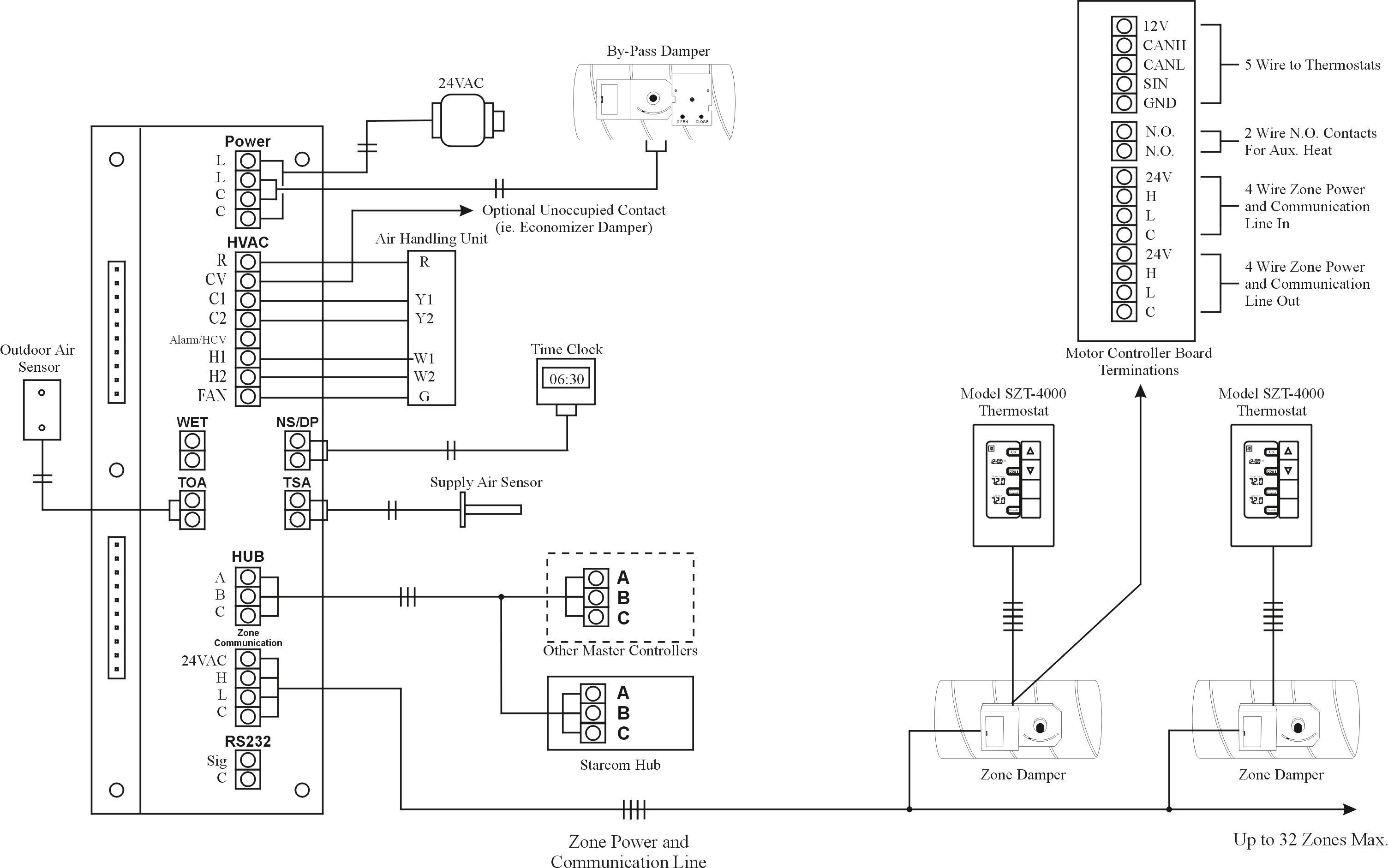Standard Heat Pump Wiring Diagram