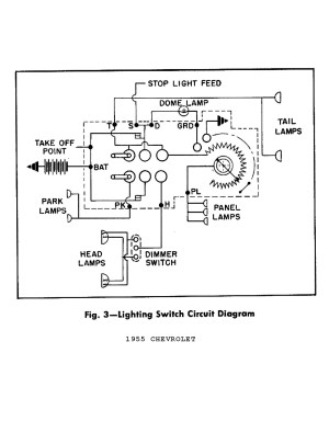 Headlight Switch Wiring Diagram Chevy Truck | Free Wiring