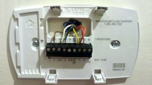 Heat Pump thermostat Wiring Diagram Honeywell | Free