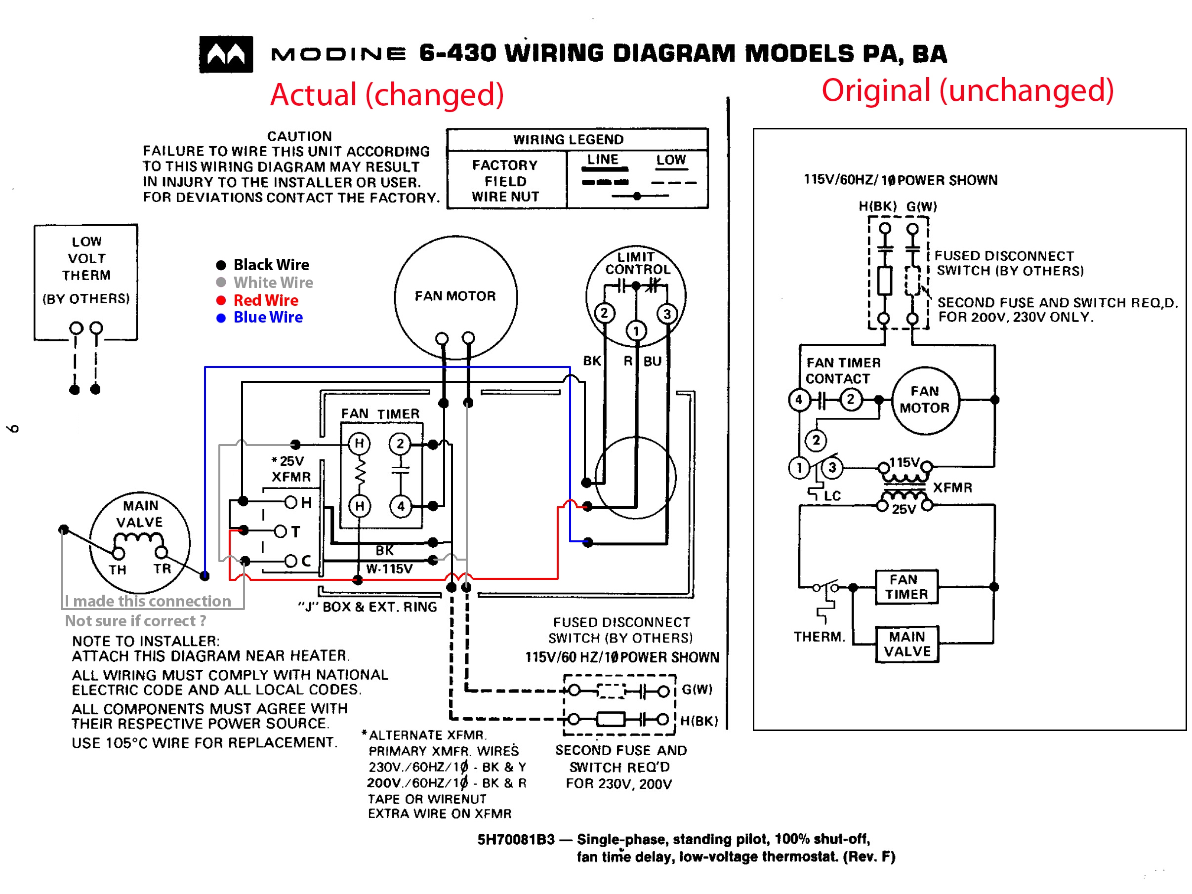 Heat Surge Wiring Diagram