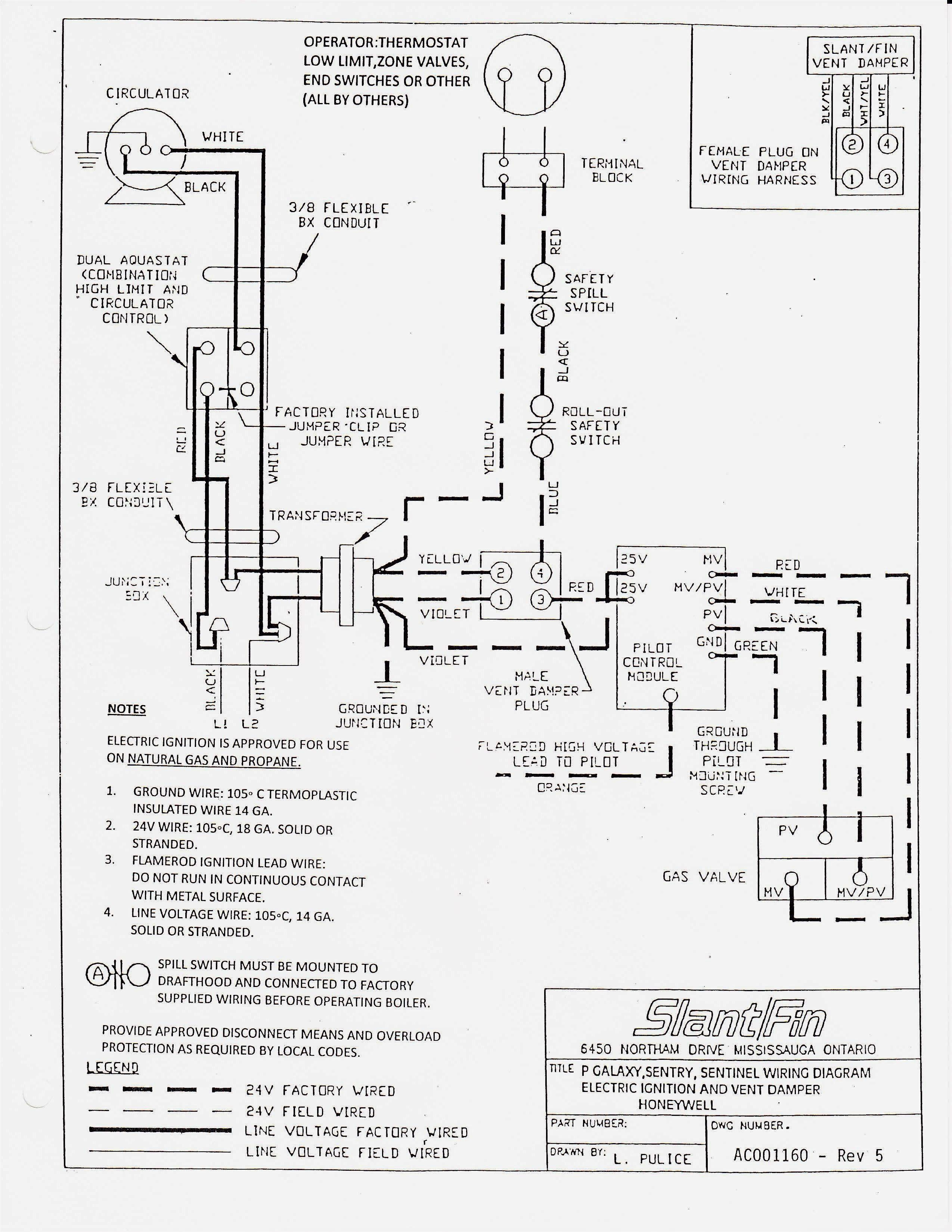Thermostat Switch Diagram