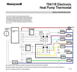 Honeywell Th5220d1003 Wiring Diagram | Free Wiring Diagram