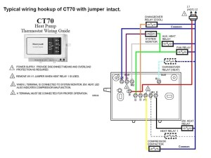 Honeywell thermostat Ct87n Wiring Diagram | Free Wiring