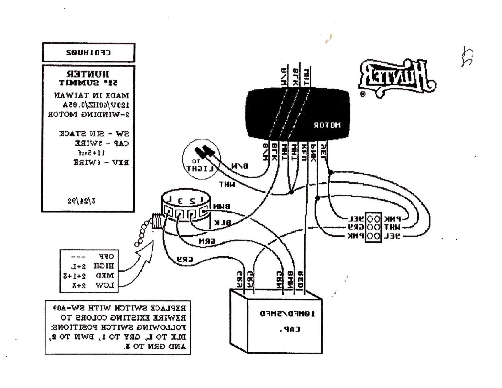 Fan Light Switch Wiring Diagram