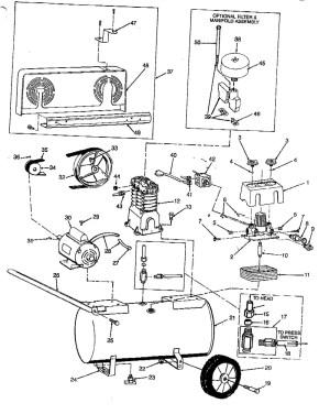 Husky Air Compressor Wiring Diagram | Free Wiring Diagram