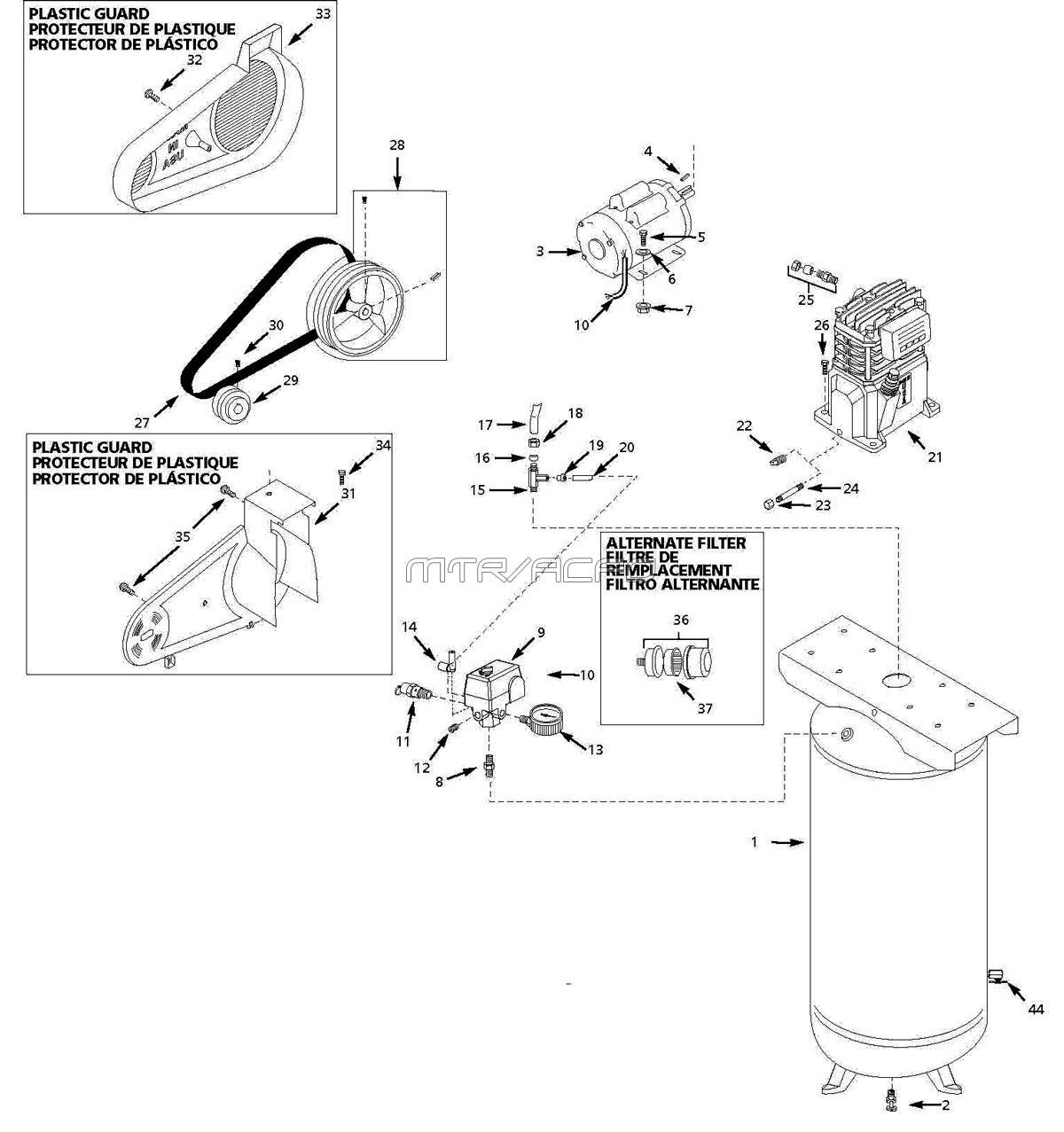 Marvair Wiring Schematics  Ductwork Schematics, Motor Schematics