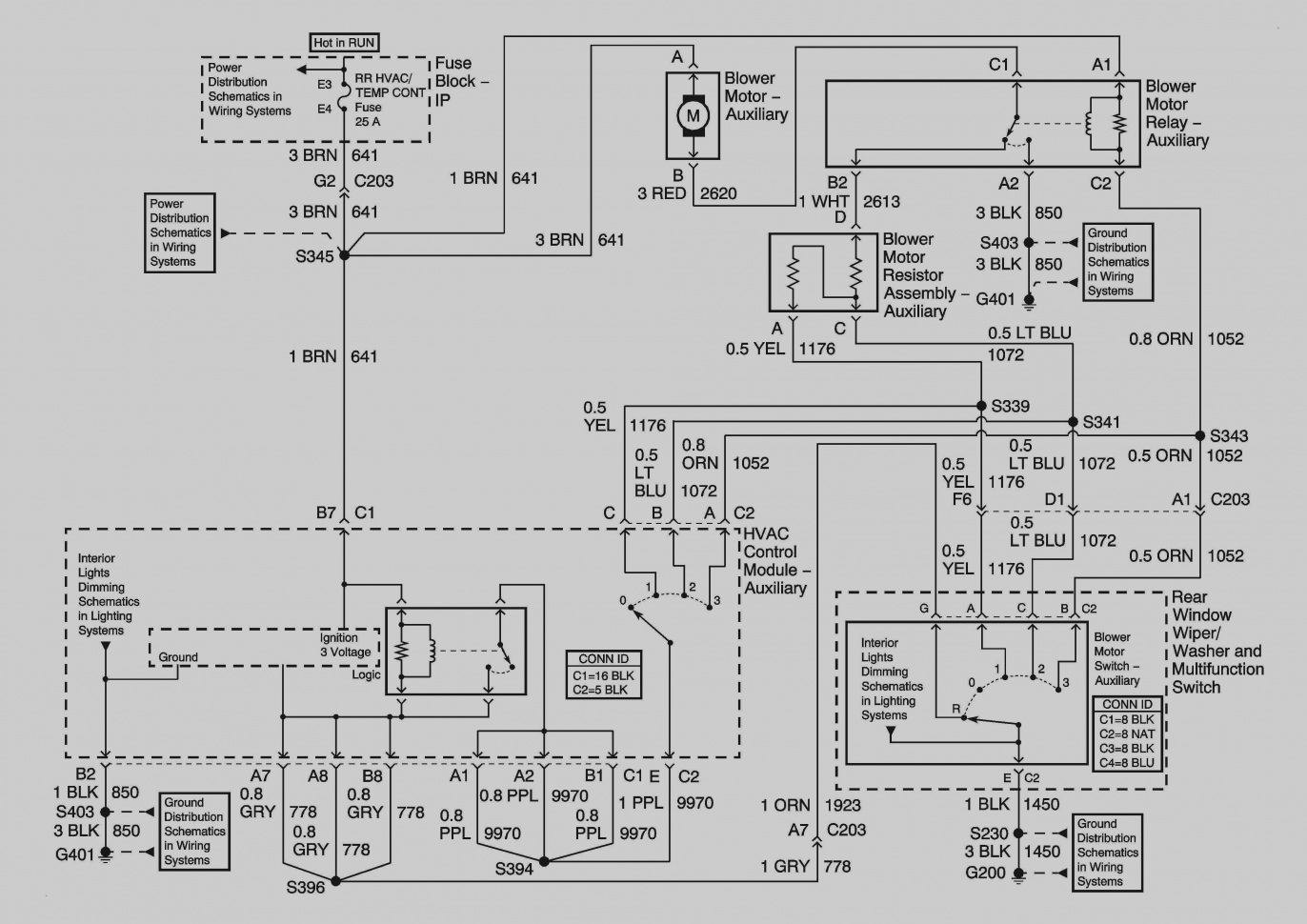 Hvac Control Panel Wiring Diagram