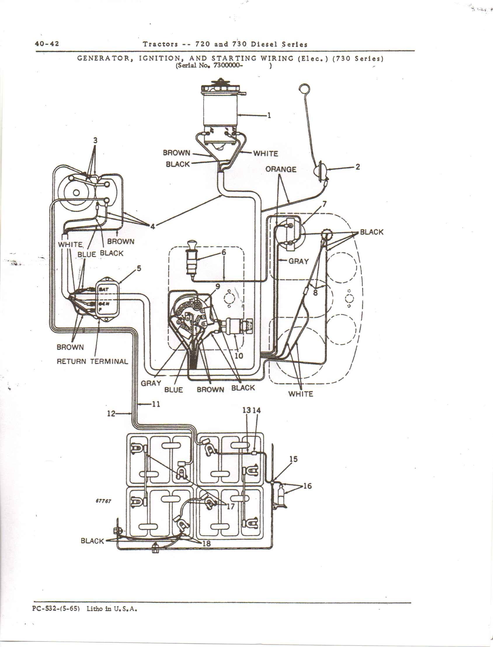 John Deere 850 Wiring Schematic