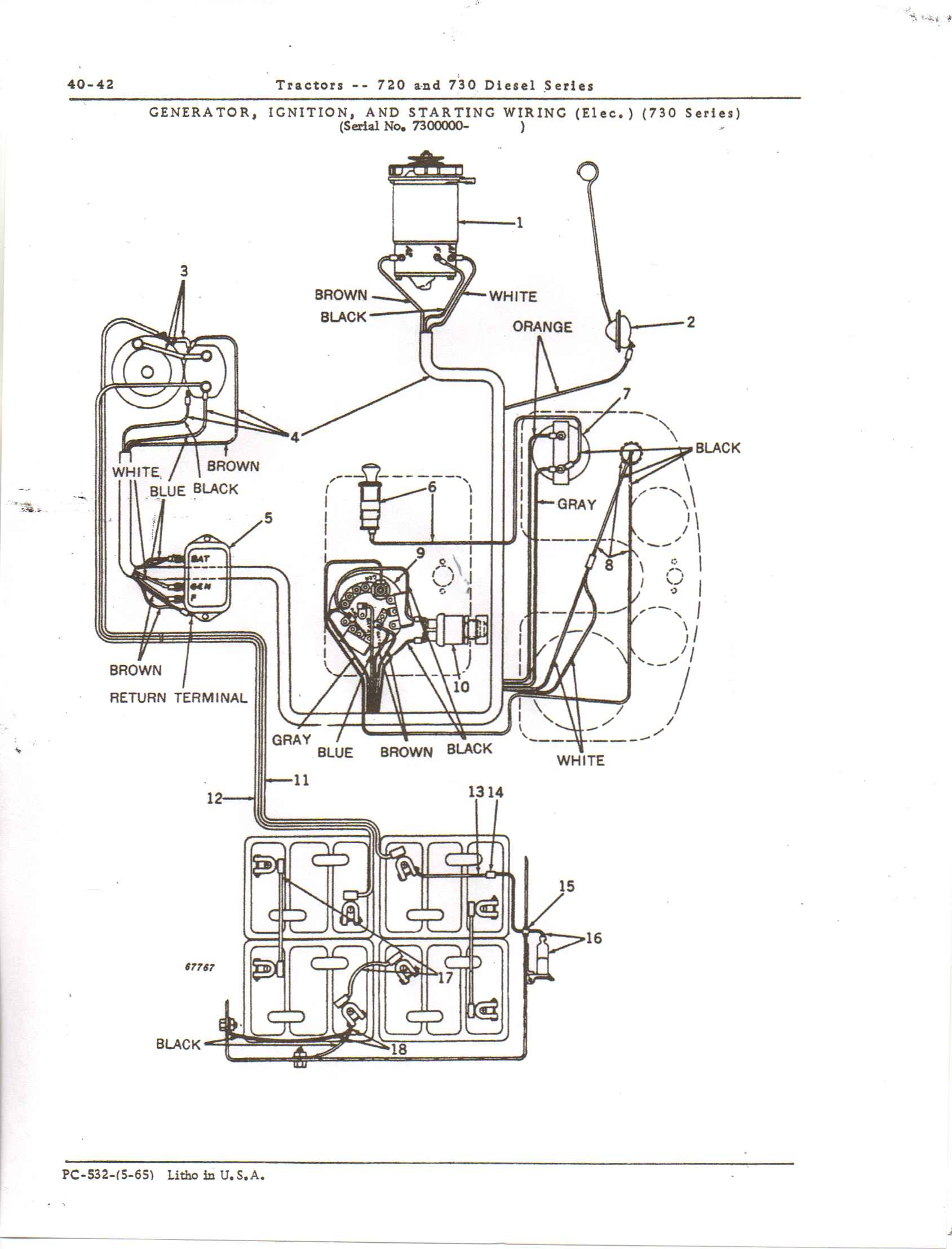 John Deere 420 Mower Wiring Diagram | Wiring Diagram on