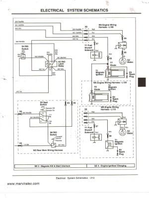 John Deere Lawn Mower Wiring Diagram   Free Wiring Diagram