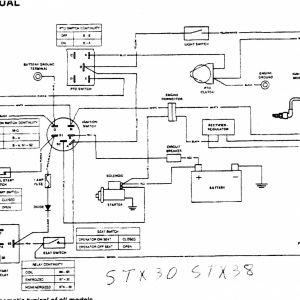John Deere Stx38 Wiring Schematic | Free Wiring Diagram