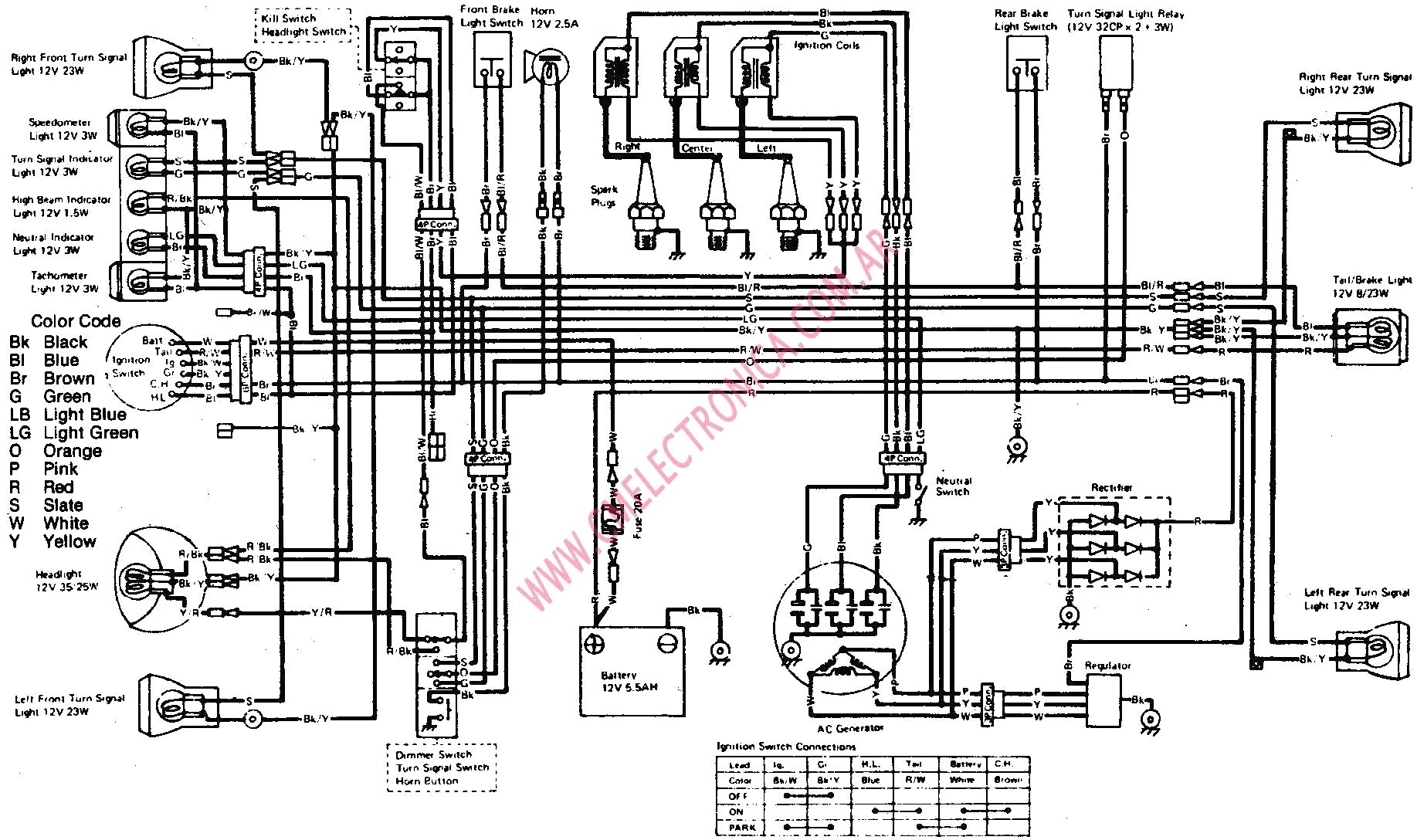 [DIAGRAM] 85 Kawasaki Ninja Wiring Diagram Schematic FULL