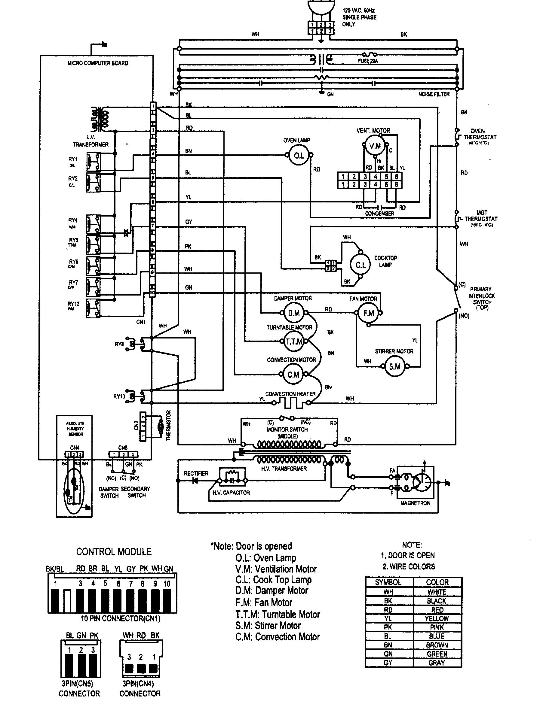 Refrigerator Schematics