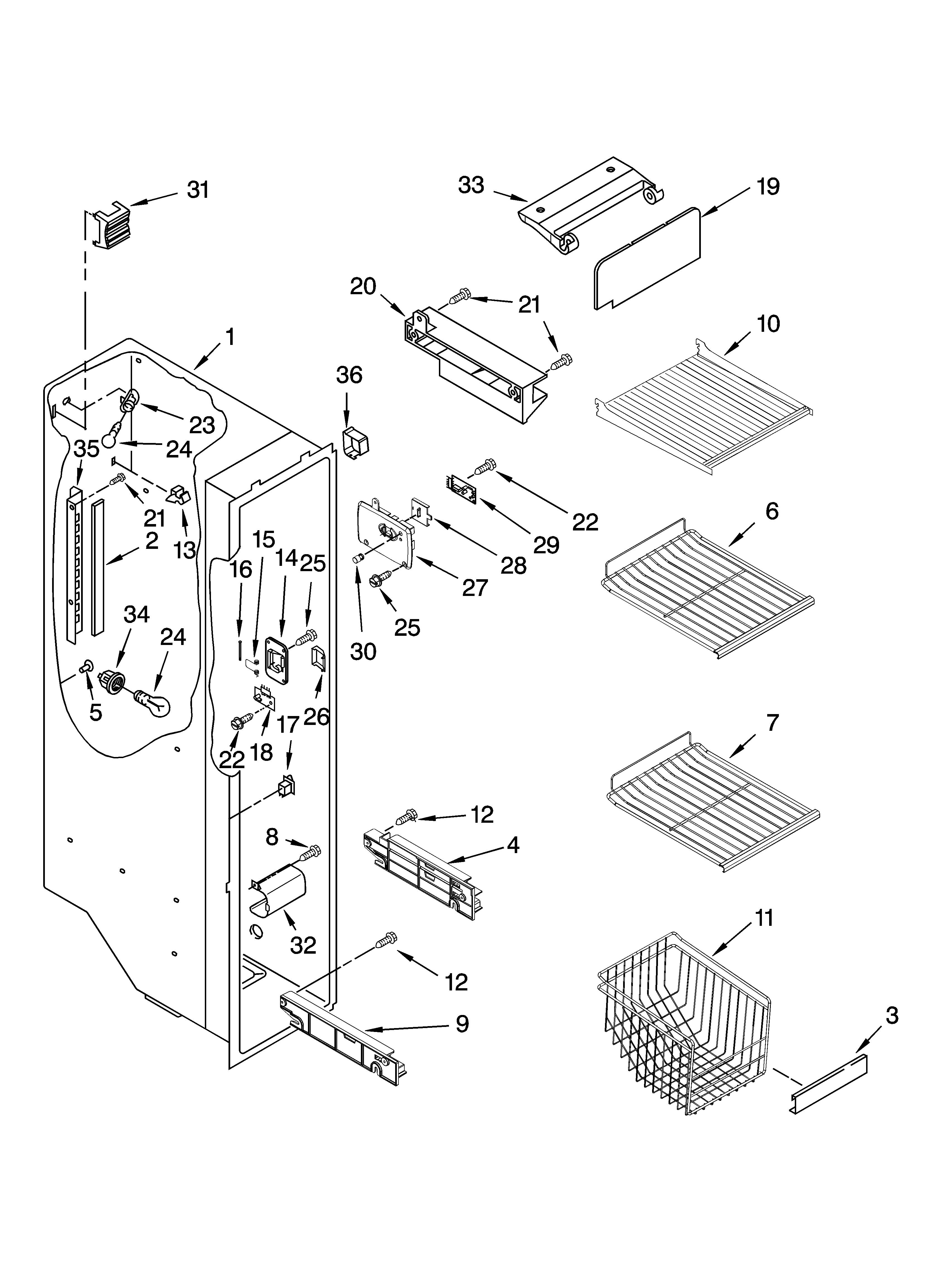 Sears Freezer Wiring Diagram
