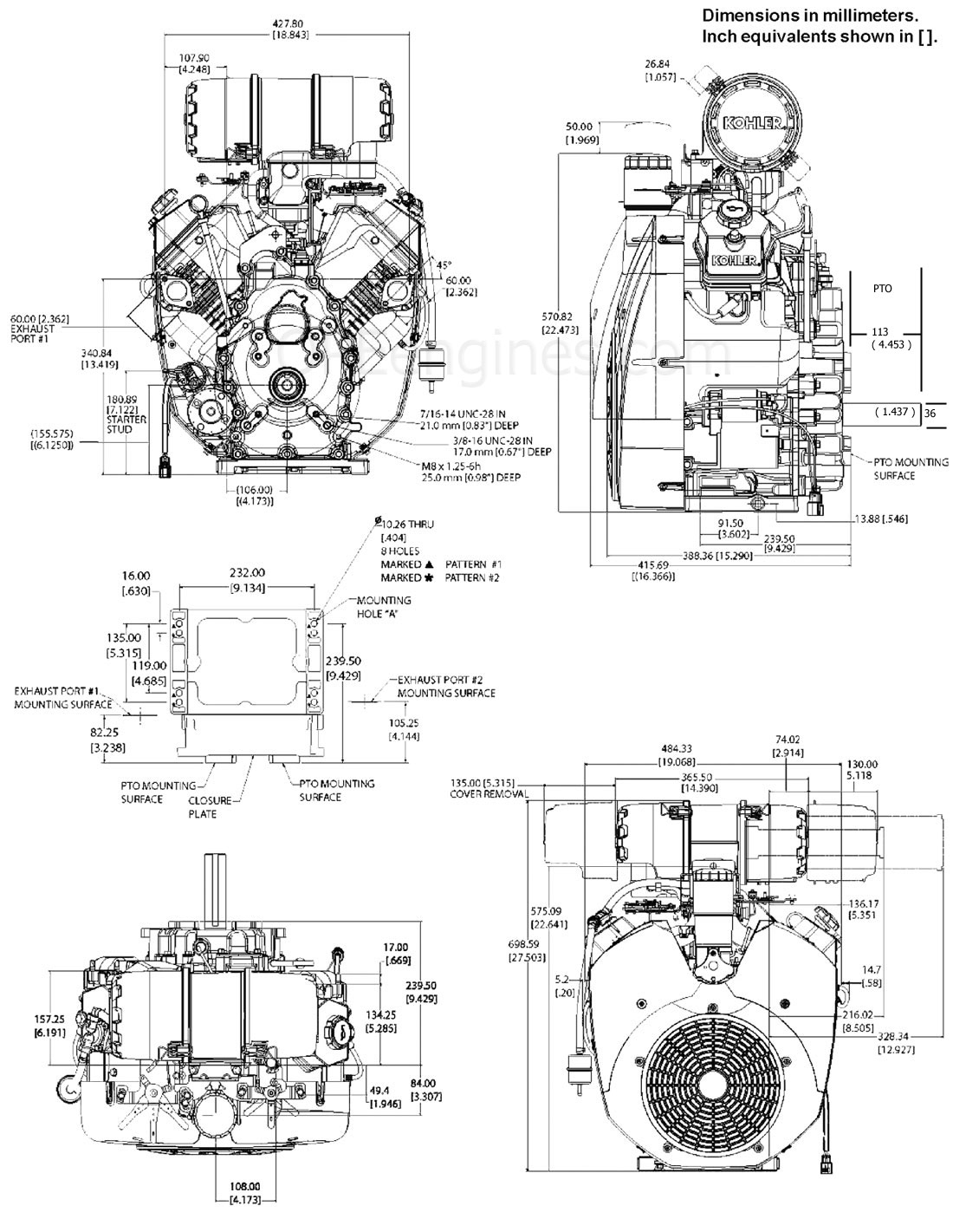 25 Hp Kohler Engine Carburetor Diagram
