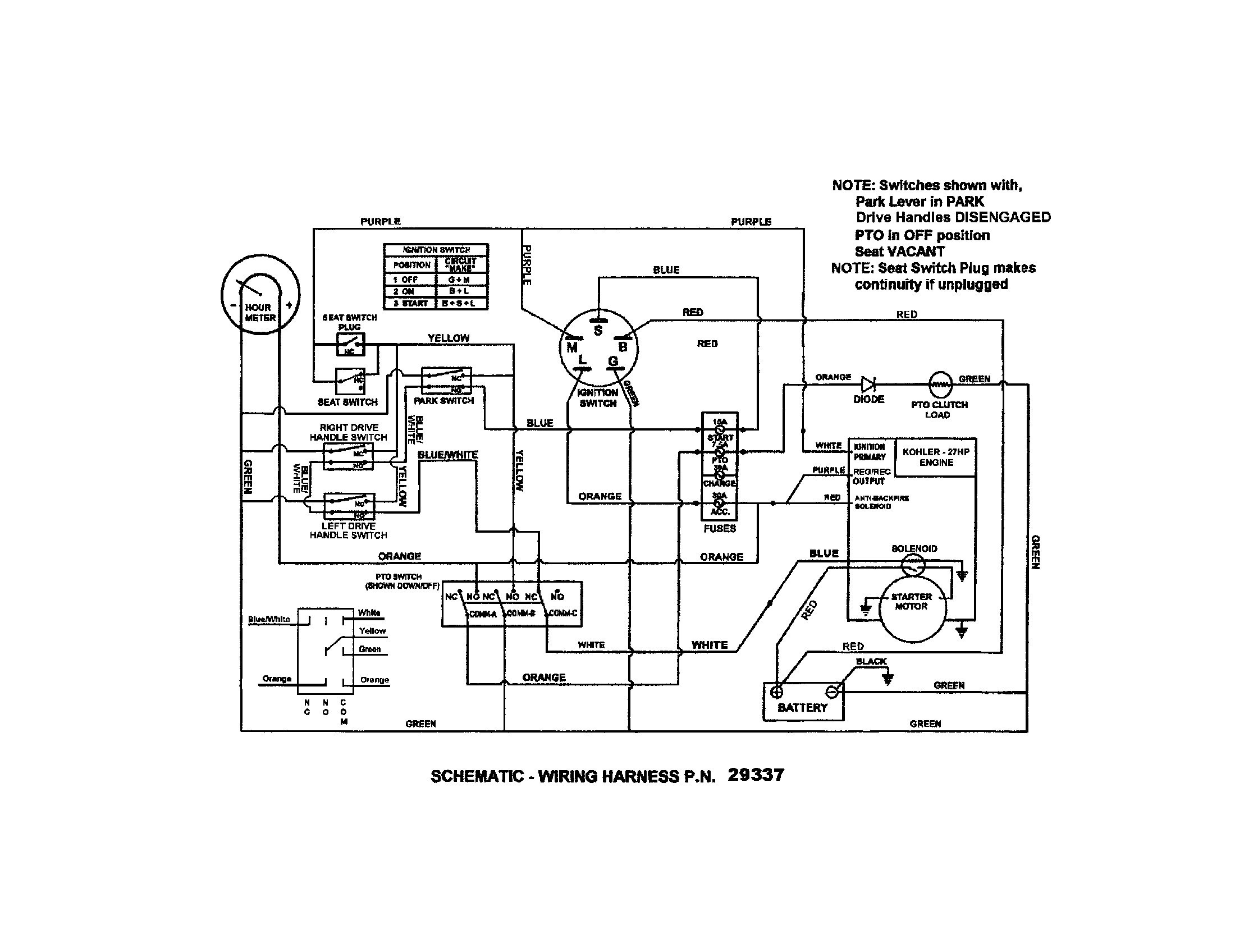 23 Hp Kohler Engine Diagram | Wiring Diagram Database