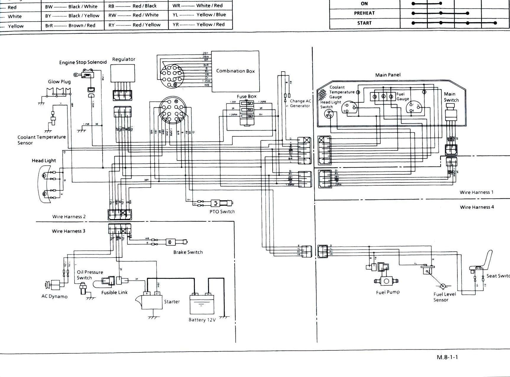 Diagram Kubota zd331 wiring diagram Elektriskt ... on
