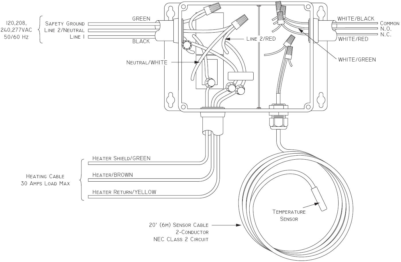 Single Pole Thermostat Wiring