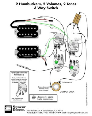 Les Paul Guitar Wiring Schematic | Free Wiring Diagram