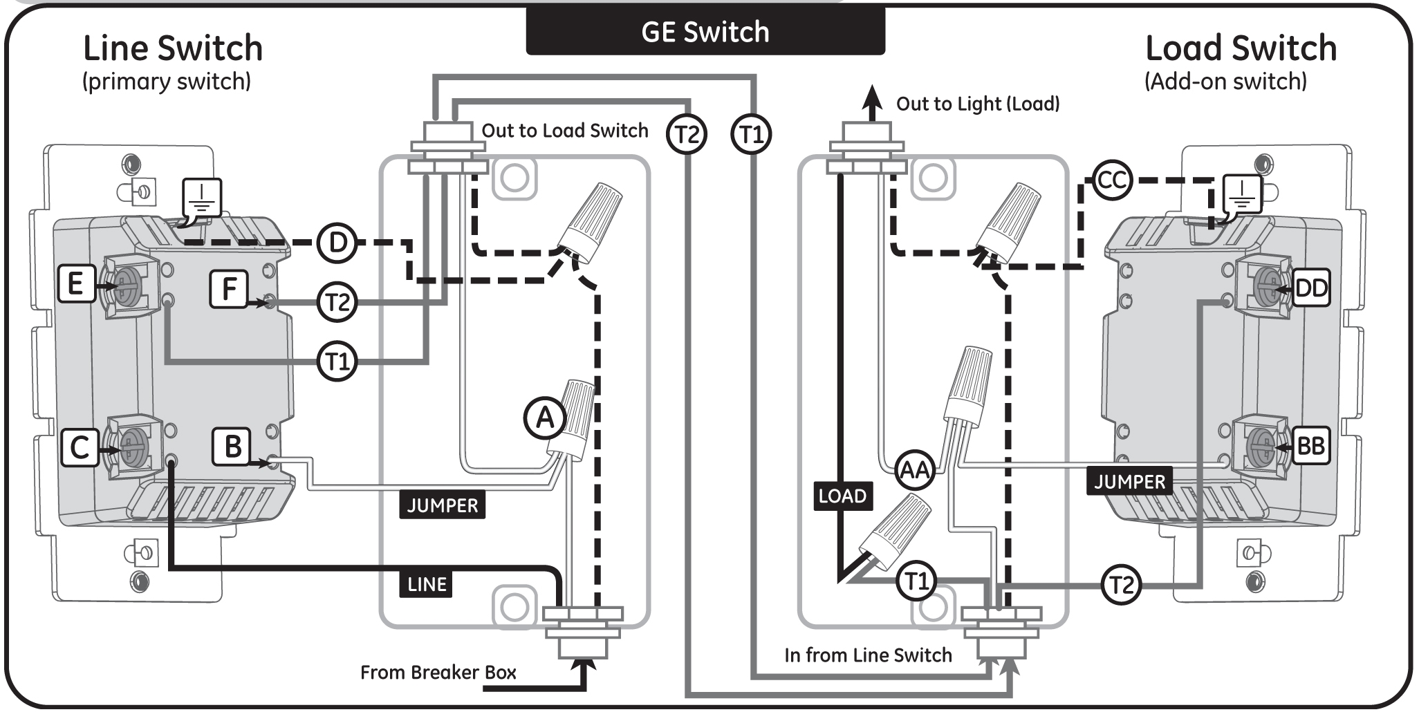5 Way Switch Wiring Diagram Inline - Catalogue of Schemas  Way Switch Electrical Wiring Diagram on