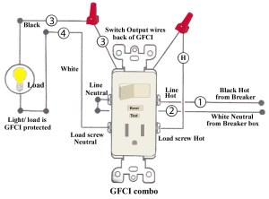 Leviton Switch Outlet Combination Wiring Diagram | Free