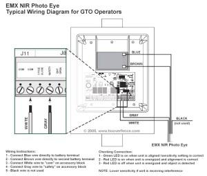 Liftmaster Wiring Diagram Sensors | Free Wiring Diagram