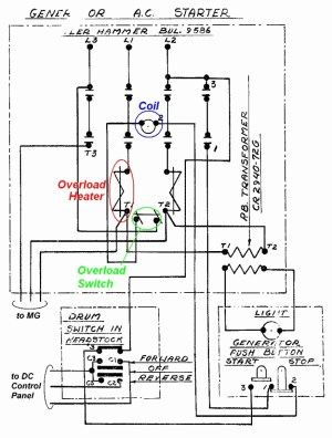 Mechanically Held Lighting Contactor Wiring Diagram | Free