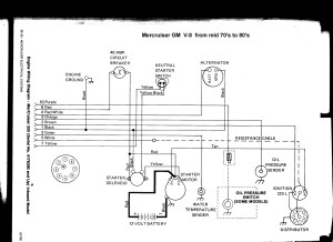Mercruiser 43 Wiring Diagram | Free Wiring Diagram