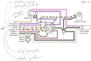 Mercury Outboard Ignition Switch Wiring Diagram | Free