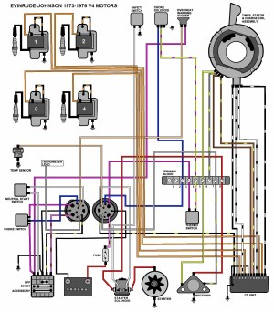 Mercury Outboard Wiring Diagram Ignition Switch | Free