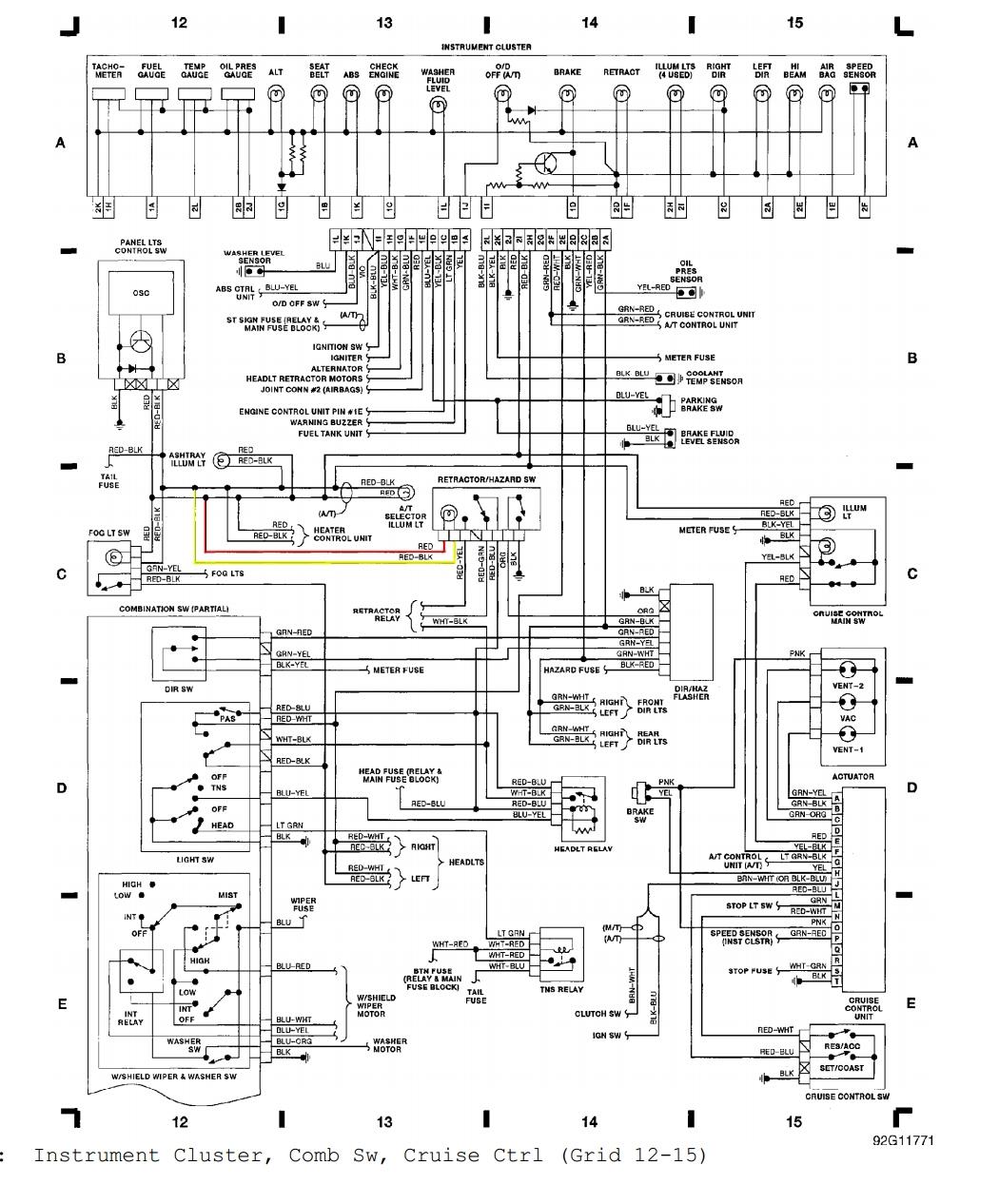 Miata Ignition Switch Wiring Diagram
