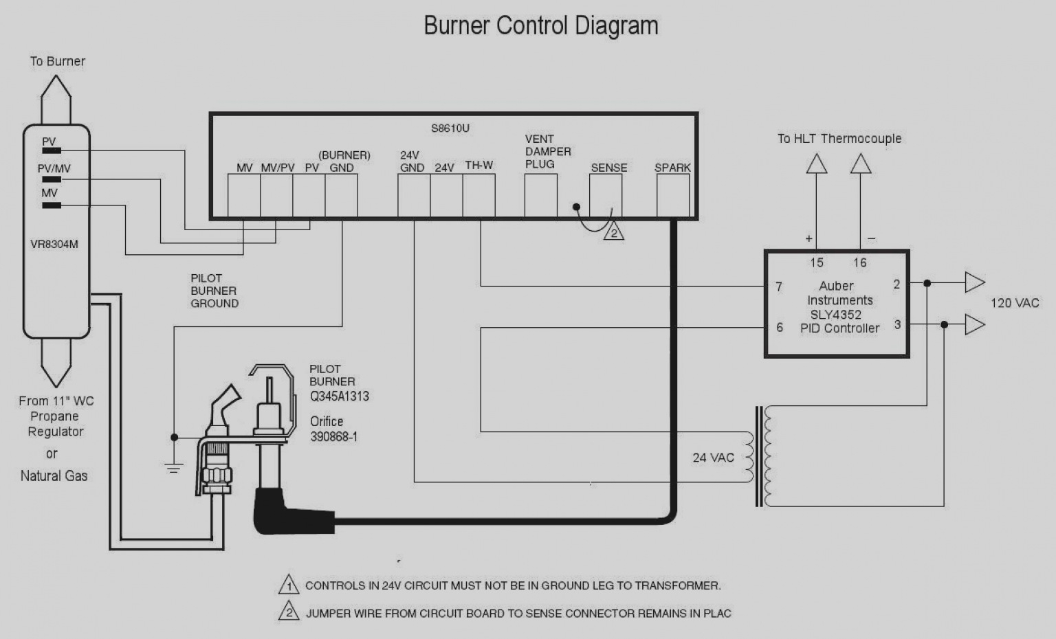 Millivolt Thermostat Wiring Diagram