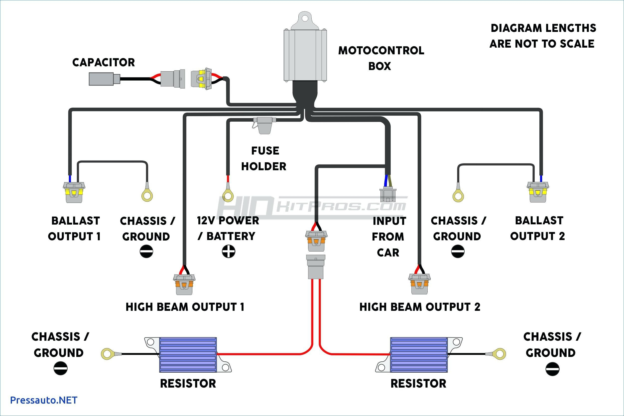 H4 Headlight Wiring Diagram