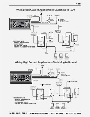 Msd 6al Part Number 6420 Wiring Diagram | Free Wiring Diagram