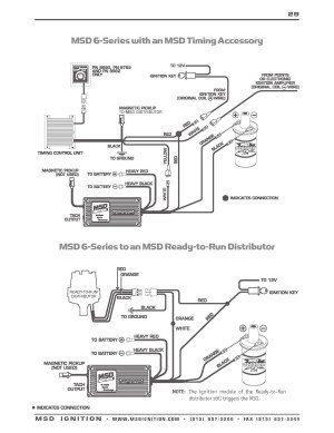 Msd Ignition 6al 6420 Wiring Diagram | Free Wiring Diagram