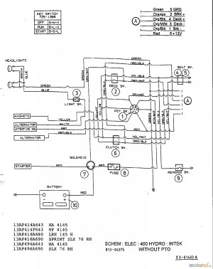 Mtd Riding Lawn Mower Wiring Diagram | Free Wiring Diagram
