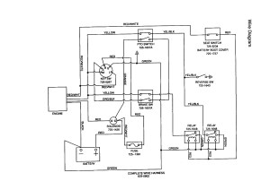 Mtd Riding Lawn Mower Wiring Diagram | Free Wiring Diagram