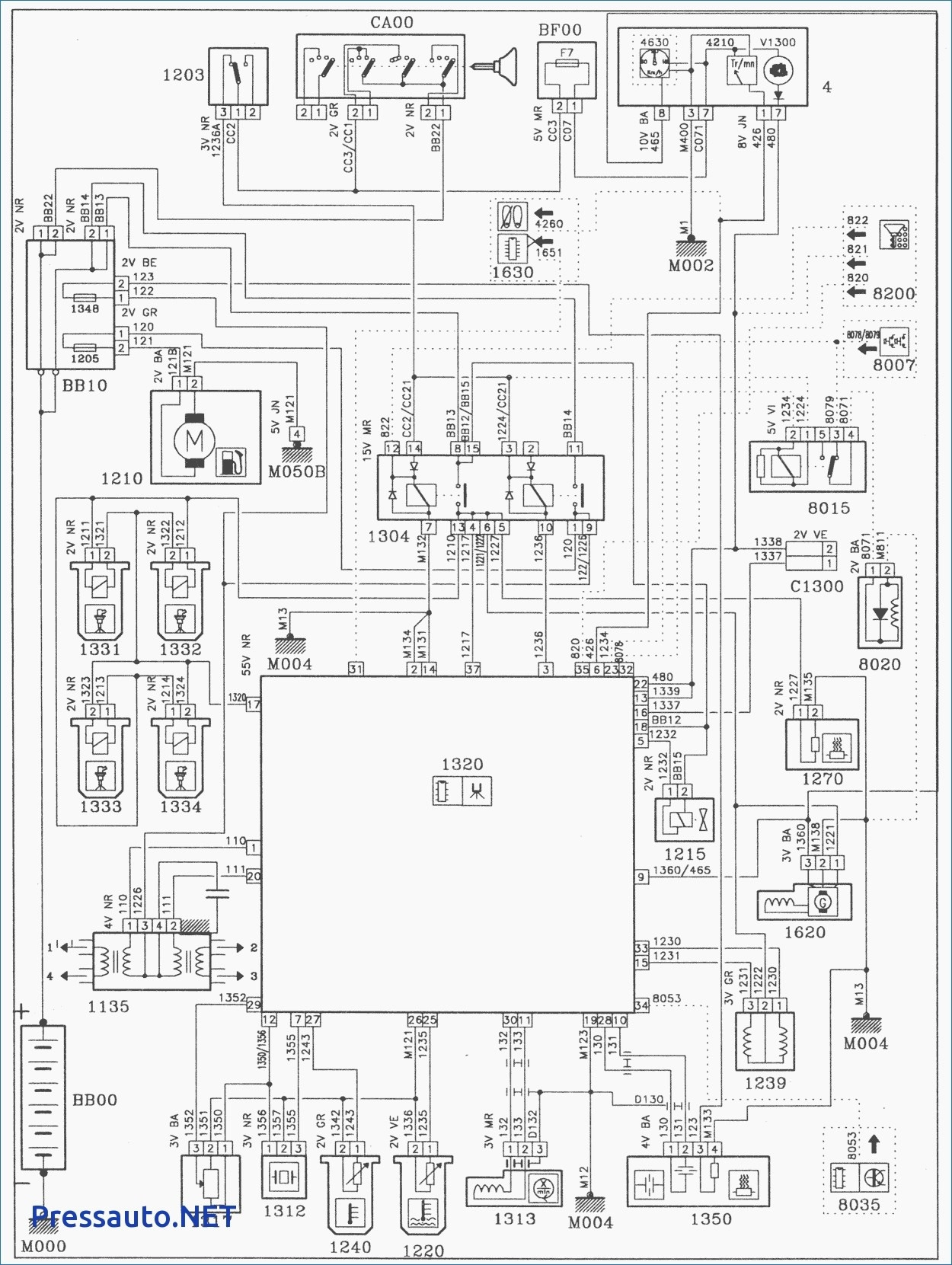 Air Conditioner Pressor Diagram