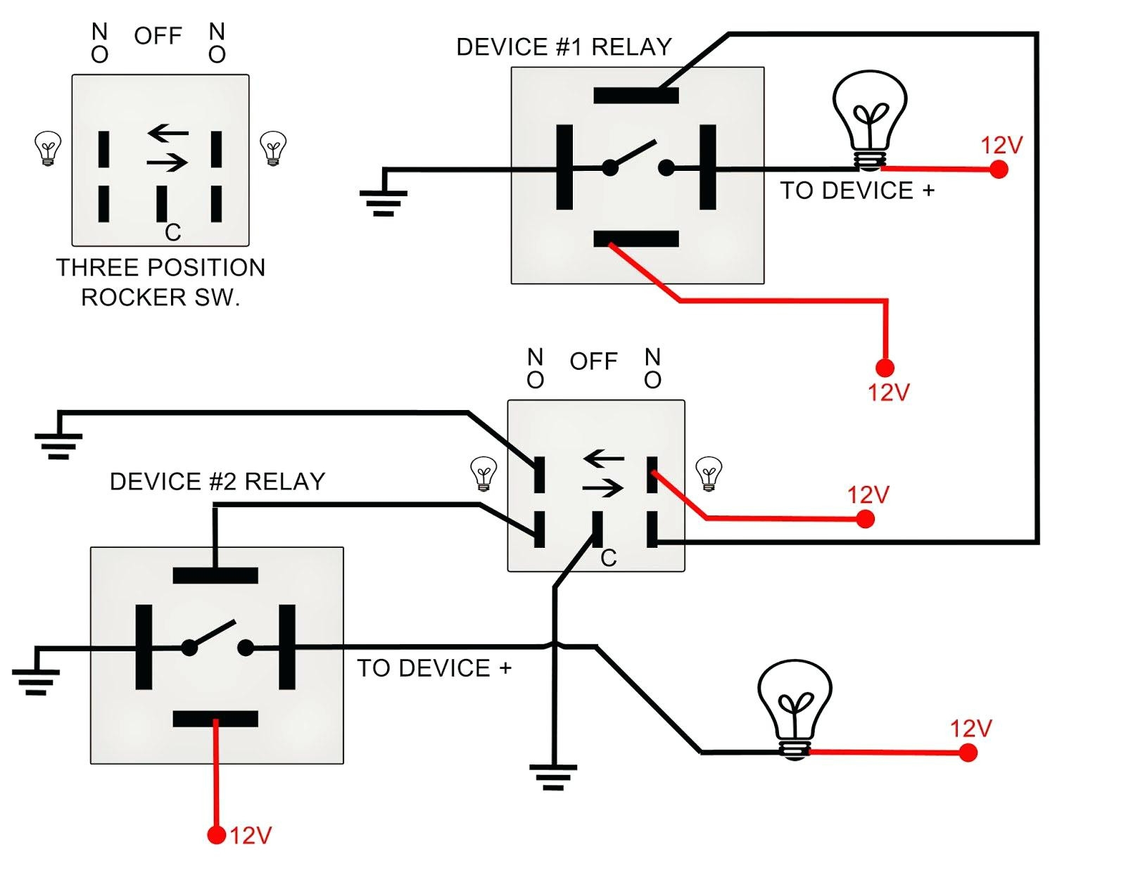 Dual Rocker Switch Wiring Diagram