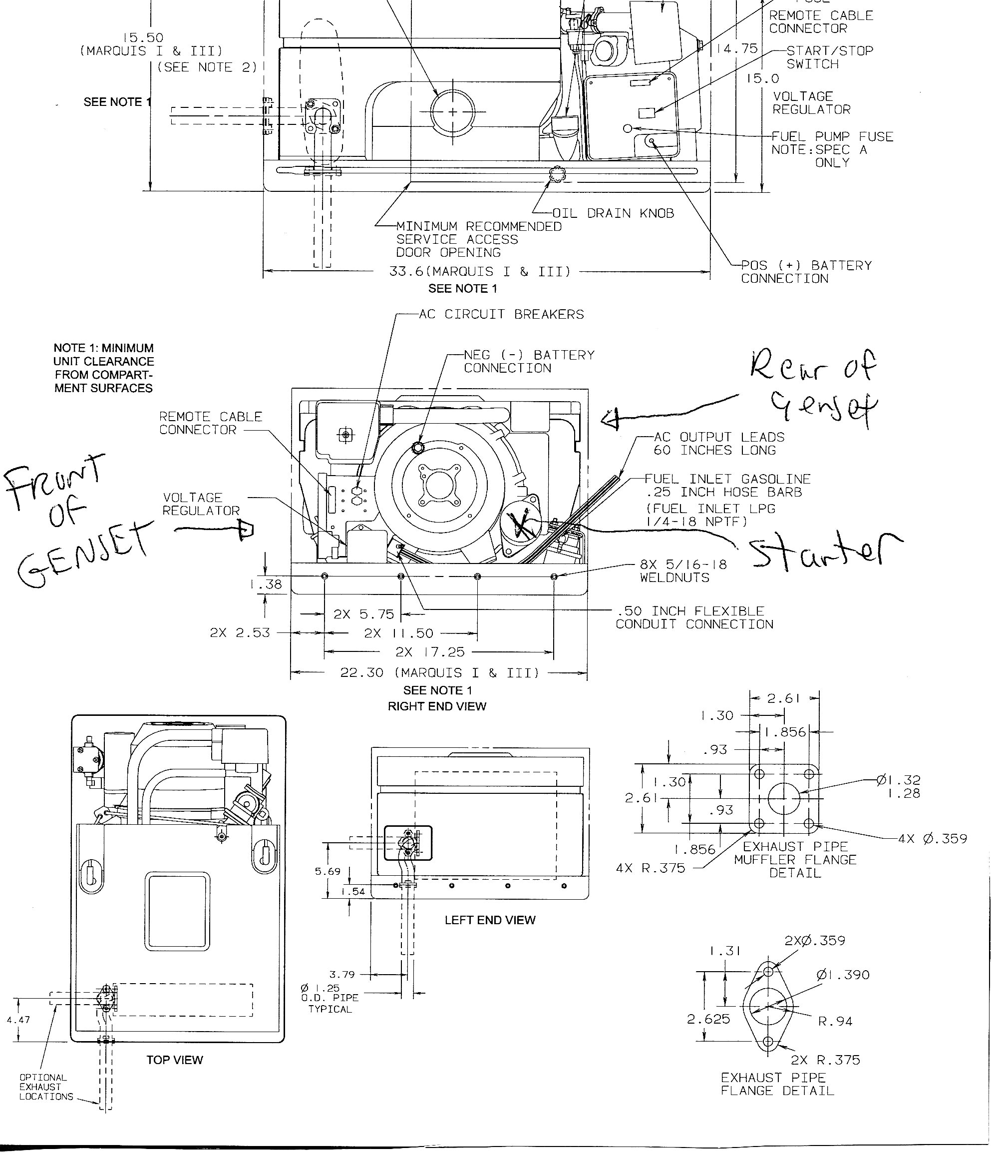 Onan Wiring Diagram Remote