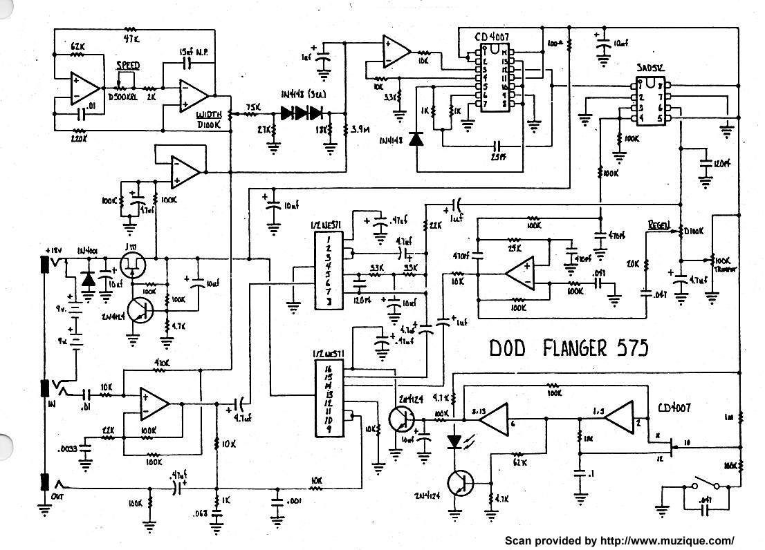 Schematic For Dod Pedals