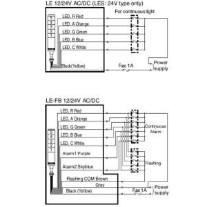 Patlite Wiring Diagram | Free Wiring Diagram