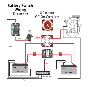 Perko Marine Battery Switch Wiring Diagram | Free Wiring