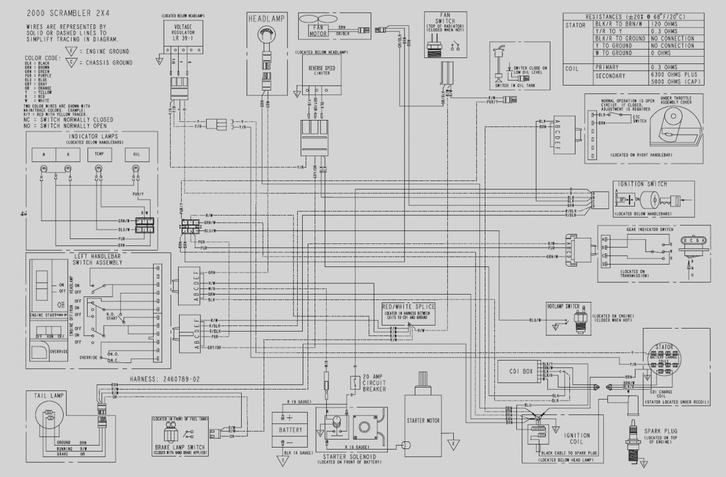 200x Wiring Diagram